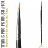 TITANIC PRO-FX BRUSH 101 -Delineador fino-