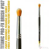 TITANIC PRO-FX BRUSH 107 -Stipple punta redonda pequeño-