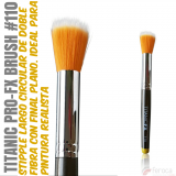 TITANIC PRO-FX BRUSH 110 -Stipple circular largo-