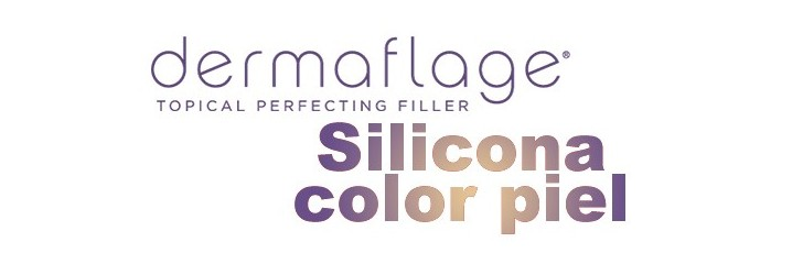 Dermaflage. Silicona Color Piel