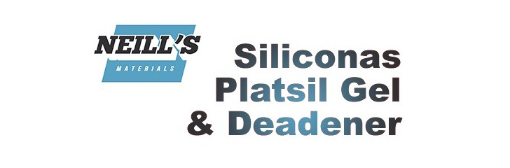 Siliconas Platsil Gel & Deadener