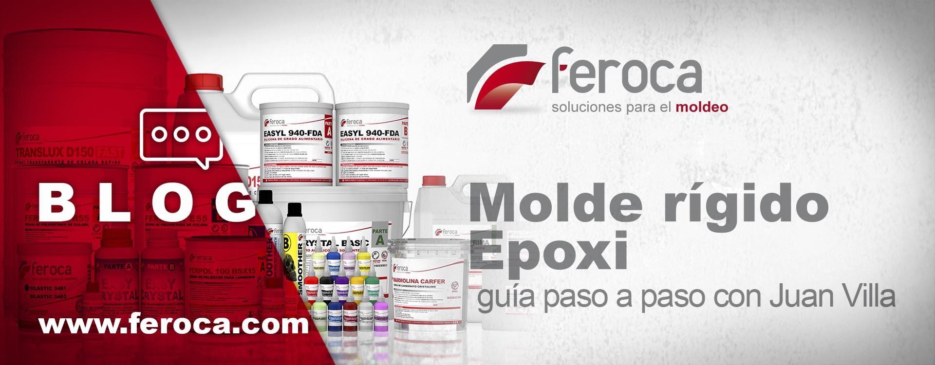 Cómo hacer un molde rígido Epoxi, compatible con siliconas de platino